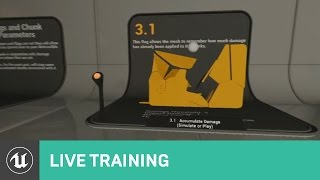 Destructible Editor Features & Guide   Live Training   Unreal Engine