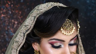 ASIAN  BRIDAL STYLE  || STEP BY STEP  || TUTORIAL