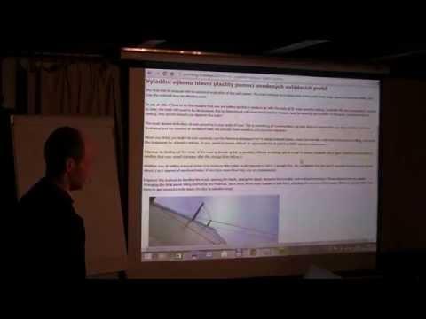Jachtařská přednáška č. 4: Tomáš Musil - Trimování plachet- hlavní plachta, kosatka