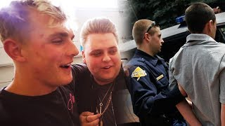 Jake Paul House VANDALIZED! Nick Crompton CALLS Police on YouTuber at Team 10 House