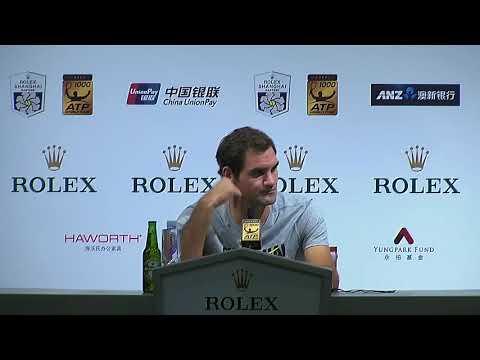 Roger Federer Full Press Conference Shanghai Masters 2017