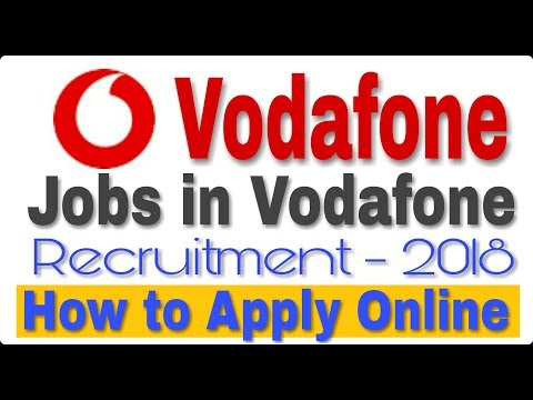 Jobs in Vodafone II Private Job 2018 II How to Apply Online