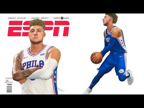 NBA 2k18 My Career - Cover of Magazine Ep.25
