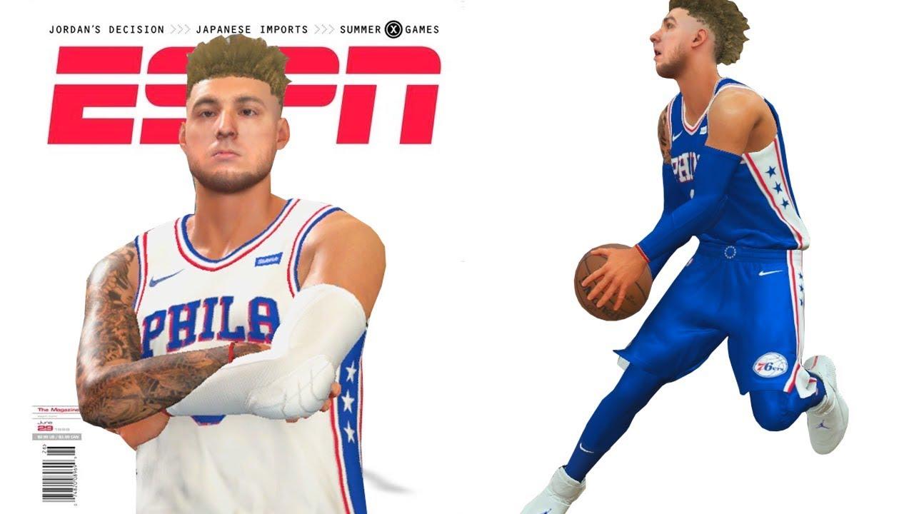 NBA 2k18 My Career - Cover of Magazine Ep.25
