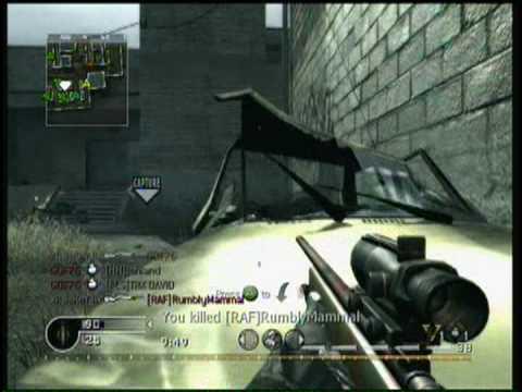 Call Of Duty 4 Sniping Montage - XII JaKeY IIx