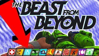 THE BEAST FROM BEYOND   PERKAHOLIC EASTER EGG TUTORIAL!   DLC4 WALKTHROUGH GUIDE   IW ZOMBIES