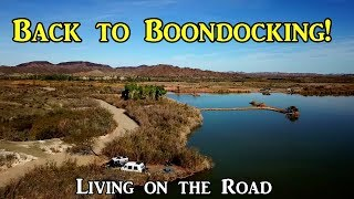 Back to Boondocking! - Living on the Road