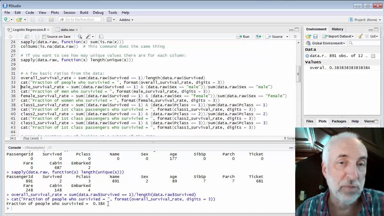Lecture61 (Data2Decision) Logistic Regression in R