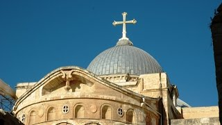 A Video Tour inside The Church of the Holy Sepulchre in Jerusalem(Join us on a Virtual Tour Inside the Church of the Holy Sepulchre for more videos: http://www.JerusalemExperience.com ..., 2015-02-04T12:13:47.000Z)