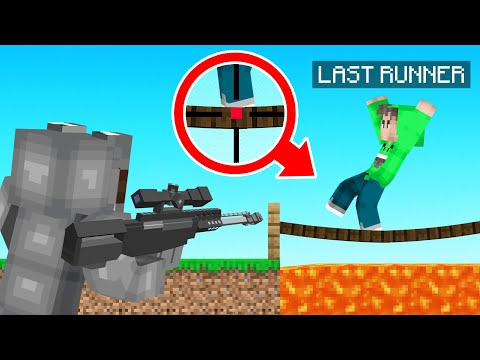 Extreme SNIPERS vs RUNNERS In Minecraft!