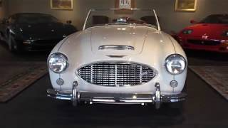 1960 Austin-Healey 3000 Mk1 BN7 walk around & start up