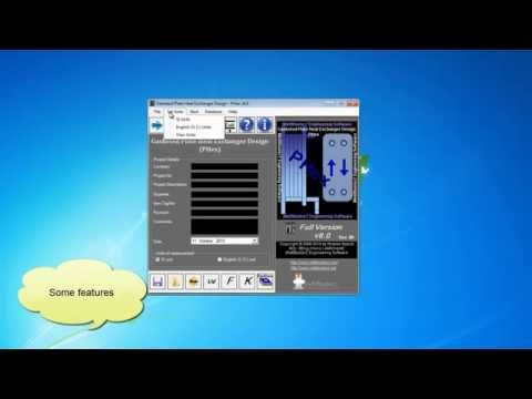 Plate heat exchanger software