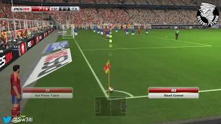 PES 2014 Demo Gameplay - (Spain vs Italy) HD