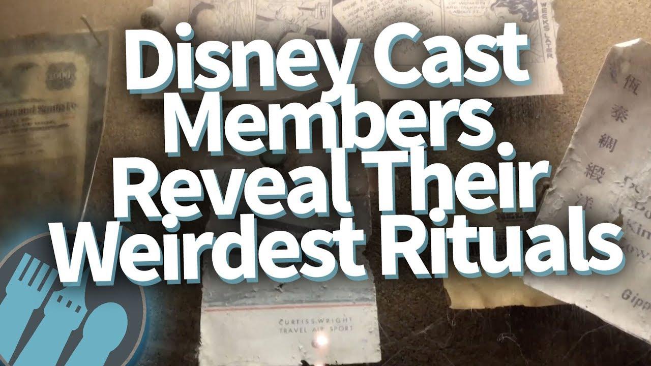 Disney Cast Members REVEAL Their Weirdest Rituals!