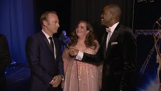 70th Emmy Awards: Backstage LIVE! with Bob Odenkirk & Aidy Bryant