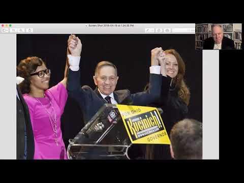 Dennis Kucinich Talks OH Democratic Gubernatorial Primary on Rob Kall Bottom Up