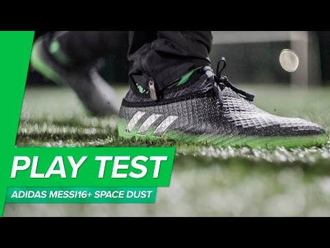 adidas Messi16+ Pureagility Space Dust Play Test & First Impression - NEW MESSI BOOTS