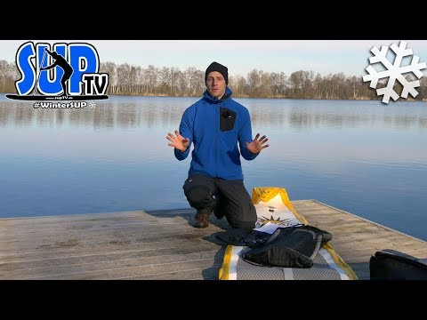 WinterSUP: Kaltes Wasser - die tödliche Gefahr beim Stand Up Paddling! // Kältereaktionen
