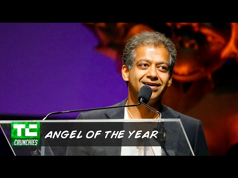"Naval Ravikant wins ""Angel Investor of the Year"" at the 10th Annual Crunchies"