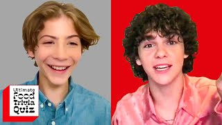 Jacob Tremblay & Jack Dylan Grazer From Pixar's 'Luca' Compete In This Ultimate Food Trivia Quiz