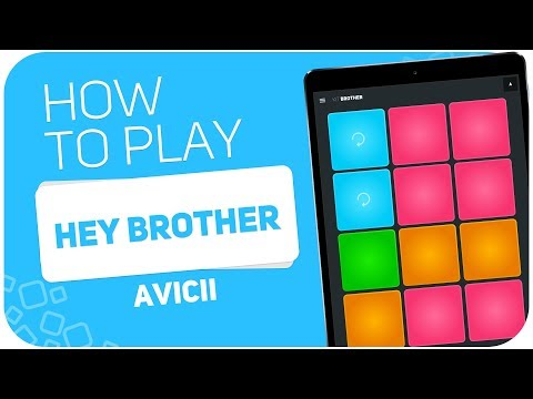 How to play: HEY BROTHER (Avicii) - SUPER PADS - Kit BROTHER
