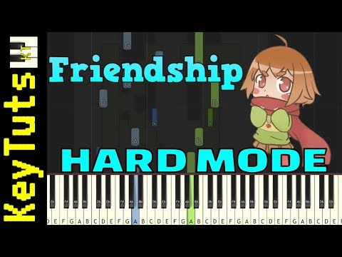 Learn to Play Friendship from Glitchtale (Undertale AU) - Hard Mode