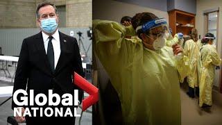 Global National: April 28, 2021 | Pressure mounts in Alberta as COVID-19 spreading fast