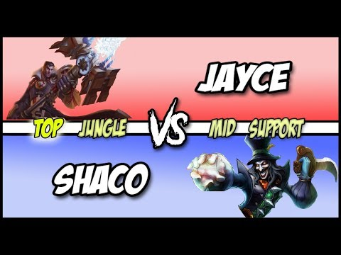 Always Stay 5 Steps Ahead - AP Shaco vs Jayce Full Game #123