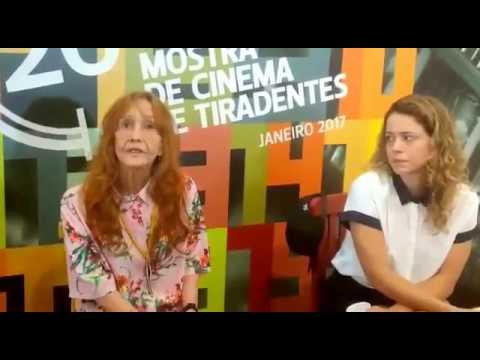 Helena Ignez e Leandra Leal durante a 20ª Mostra de Cinema de Tiradentes (parte 1)