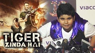 Salman Khan Fan Akshat Singh Reaction On Tiger Zinda Hai Trailer