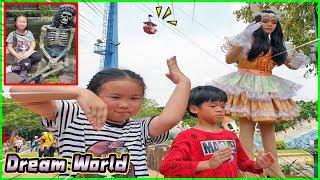 น้องการ์ตูน   เที่ยวสวนสนุกดรีมเวิลด์ กับ Ding Dong DAD - ตอนที่ 2 - TOON STORY