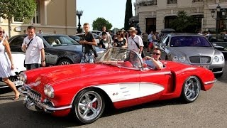 I saw the famous prinz marcus von anhalt arriving at casino square in monaco with his loud corvette ! do you like car ?my facebook page : http://www.face...