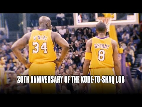 Shaquille O'Neal Talks About The Alley-Oop From Kobe In The 2000 WCF, 20 Years Later