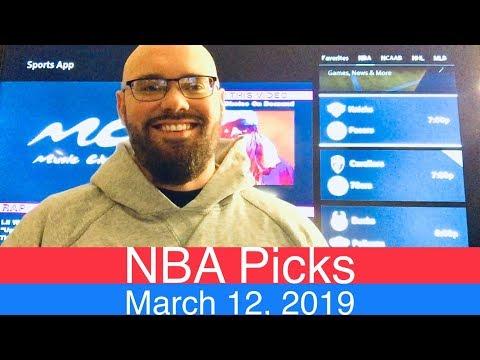NBA Picks (3-12-19)   Basketball Sports Betting Expert Predictions Video   Vegas   March 12, 2019 thumbnail