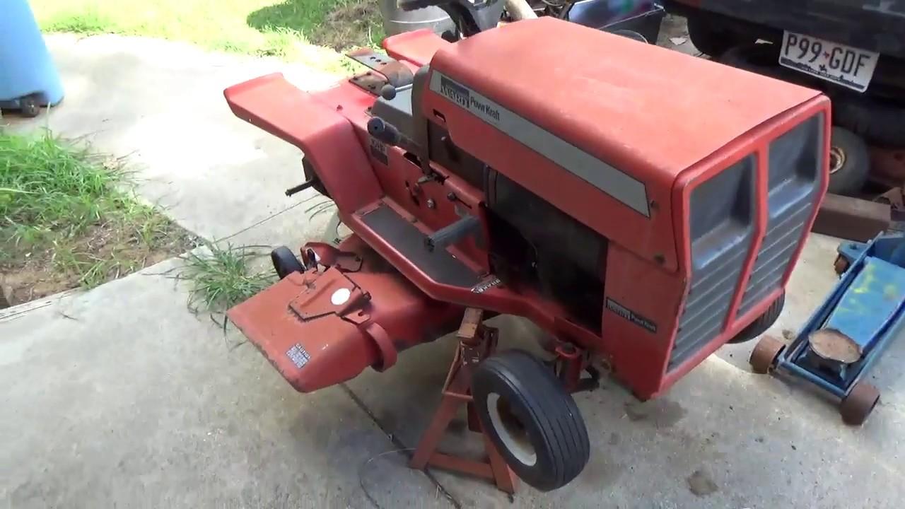 Montgomery Wards Mini Tractor Restoration Update