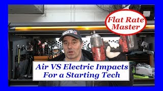 Air Vs Electric Tools For a Starting Tech