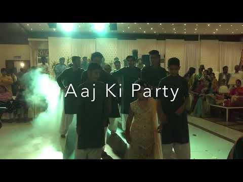 Aaj Ki Party - Mehndi Dance