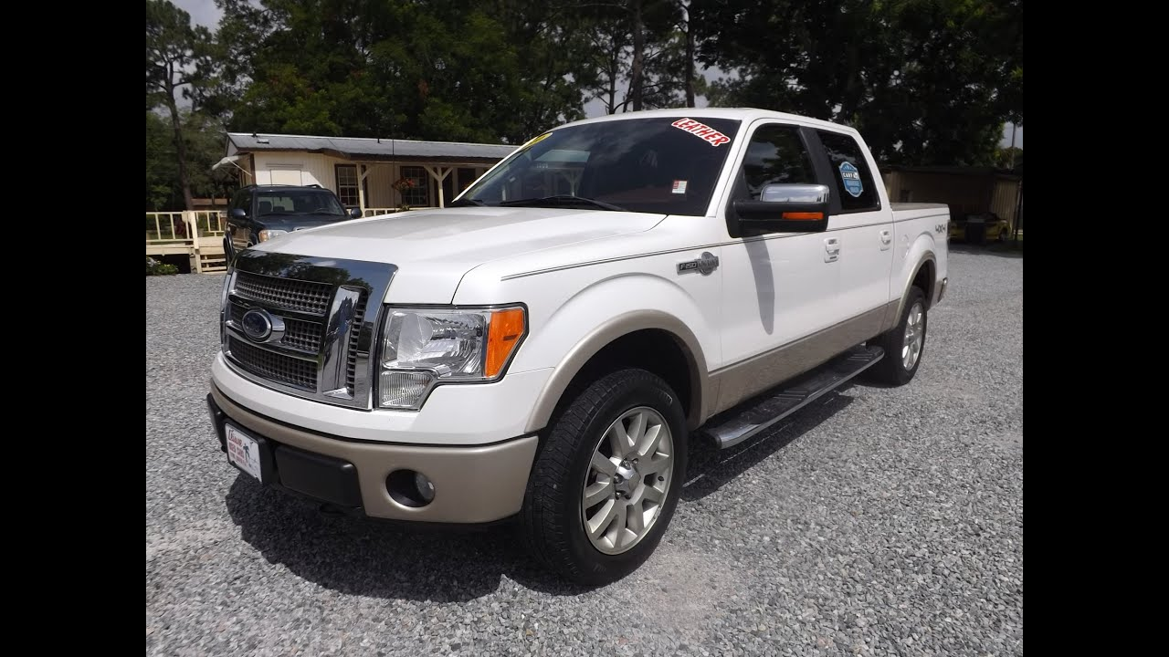 2010 ford f 150 king ranch crew cab for sale leisure used cars 850 265 9178 youtube. Black Bedroom Furniture Sets. Home Design Ideas