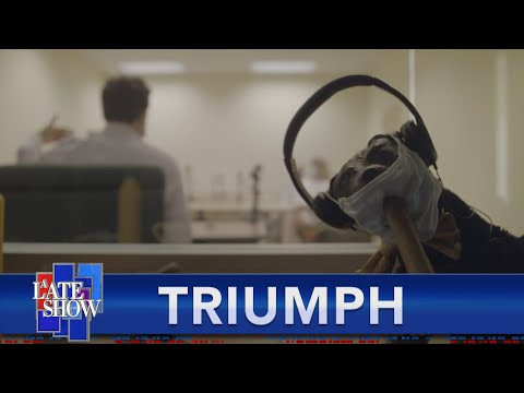 Late Show Correspondent Triumph The Insult Comic Dog Hosts A Focus Group With Real Trump Supporte…