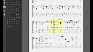 Bước 2: Hướng dẫn độc tấu bài KIẾP NGHÈO (gpx sheet)