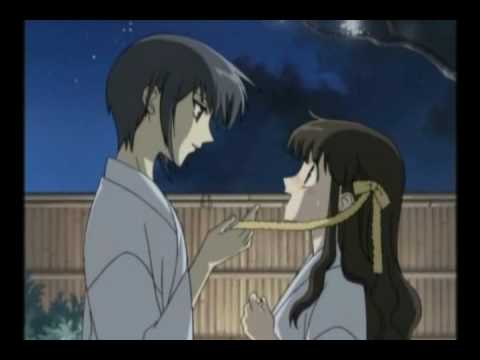 Fruits Basket Kyo And Yuki Fighting Everytime We Touch - F...