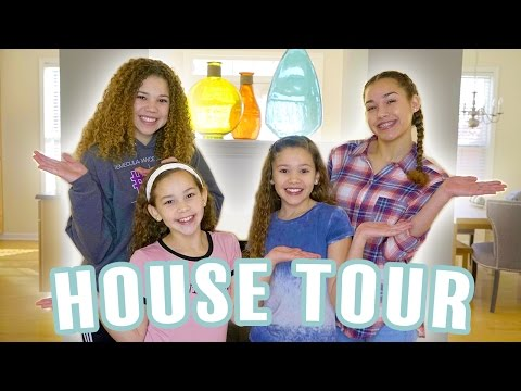 HOUSE TOUR!!!(Haschak Sisters)