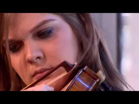 Violinist Marlene Hemmer plays Brahms