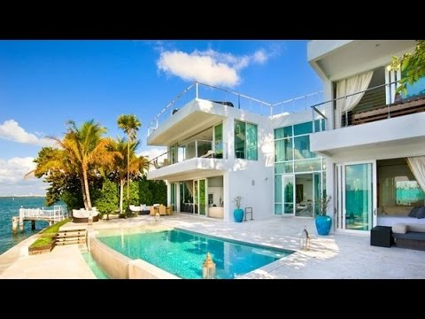 Villa Valentina Holiday Modern Luxury Residence in Miami Beach, Florida, USA