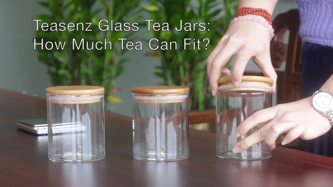 Teasenz Tea Storage Ideas Glass Tea Jars for Food Storage & Teasenz Tea Storage Ideas: Glass Tea Jars for Food Storage - YouTube