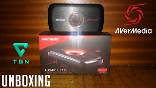 UNBOXING || AVERMEDIA LGP LITE || IT'S TIME TO RECORD 1080!!