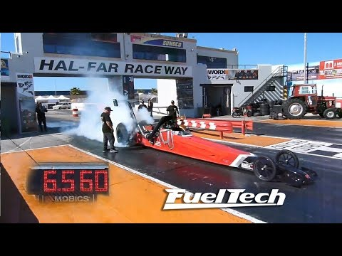 Record Breaking Honda K20 Dragster!