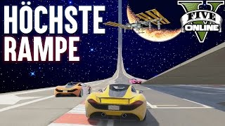 HÖCHSTE RAMPE + TROLL ★ GTA 5 Custom Map (+Download) ★ GTA Online LPmitKev | GTA 5 PC Deutsch