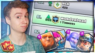 TOP 100 PUSH!.. (locally) | NEW F2P Friendly Deck | RTC Ep. 30 | Clash Royale