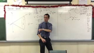 Spherical Volume (2 of 2: Derivation of the Volume of a Sphere through Solids of Revolution)